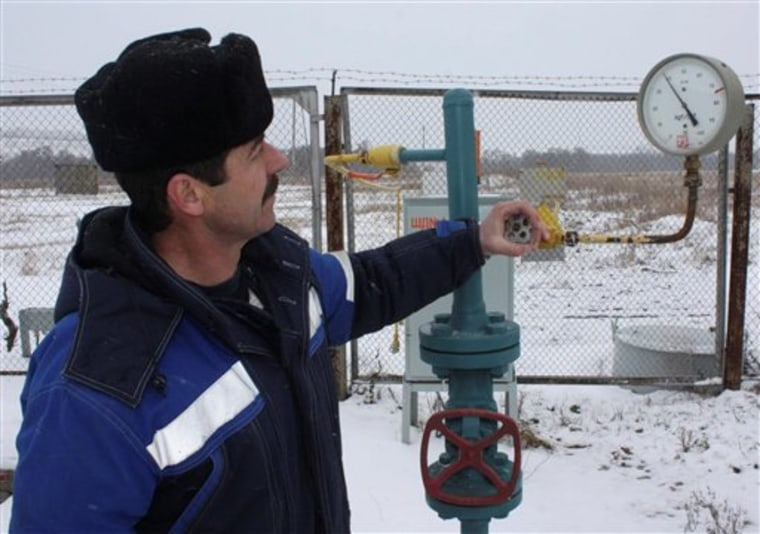 Russia Ukraine Gas