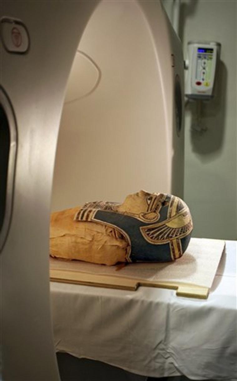 Mummy Scan