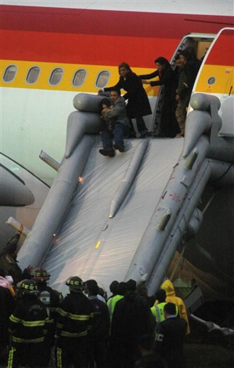 Ecuador Plane Emergency