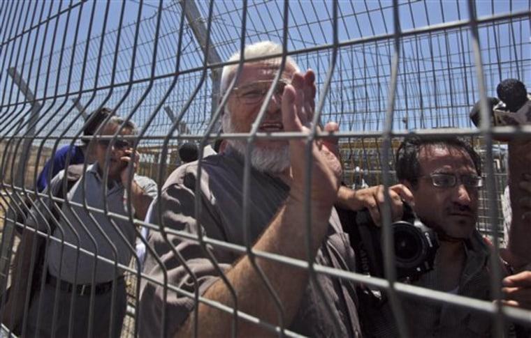 MIDEAST ISRAEL PALESTINIANS HAMAS PRISONER