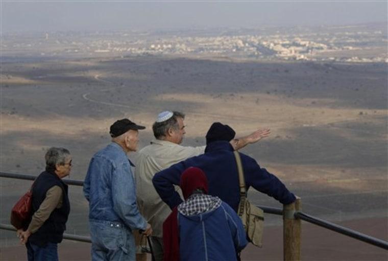 MIDEAST ISRAEL PALESTINIANS SYRIA