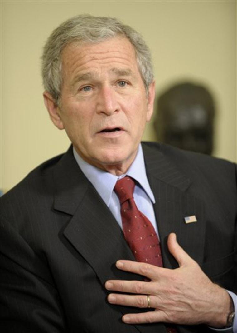 Bush US Burkina Faso