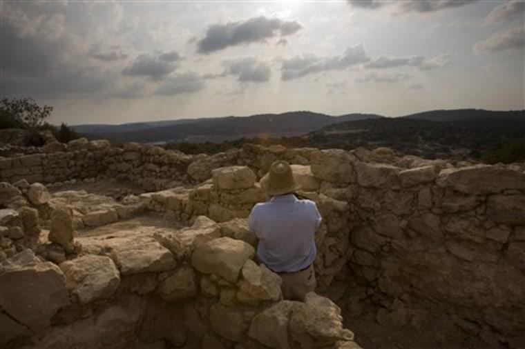 MIDEAST ISRAEL ANCIENT INSCRIPTION