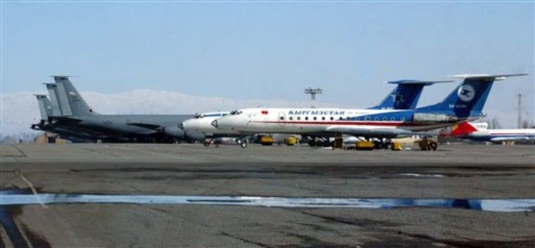 Russia Kyrgyzstan US Base