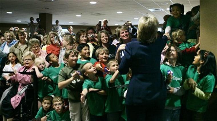 Clinton 2008 South Dakota