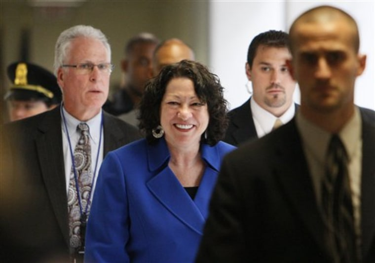 Sotomayor Republicans Flounder