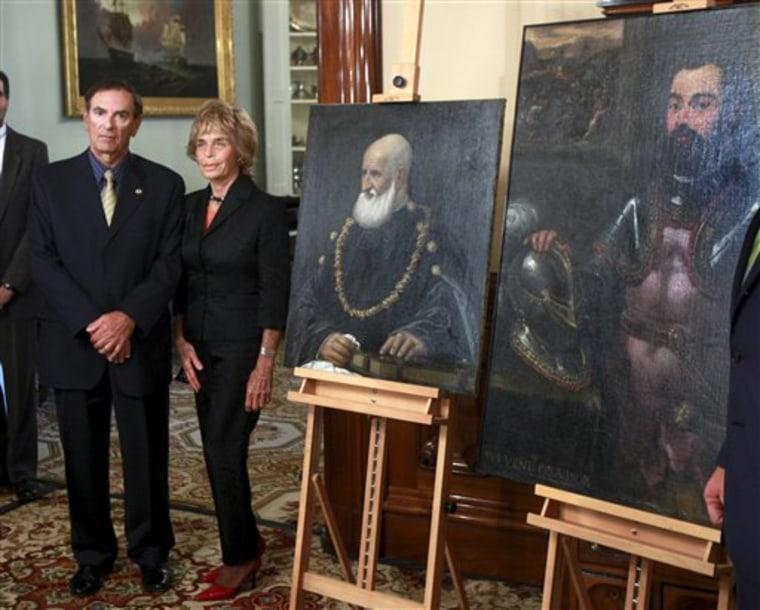 Hearst Paintings Holocaust