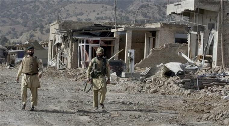 APTOPIX Pakistan Army Success
