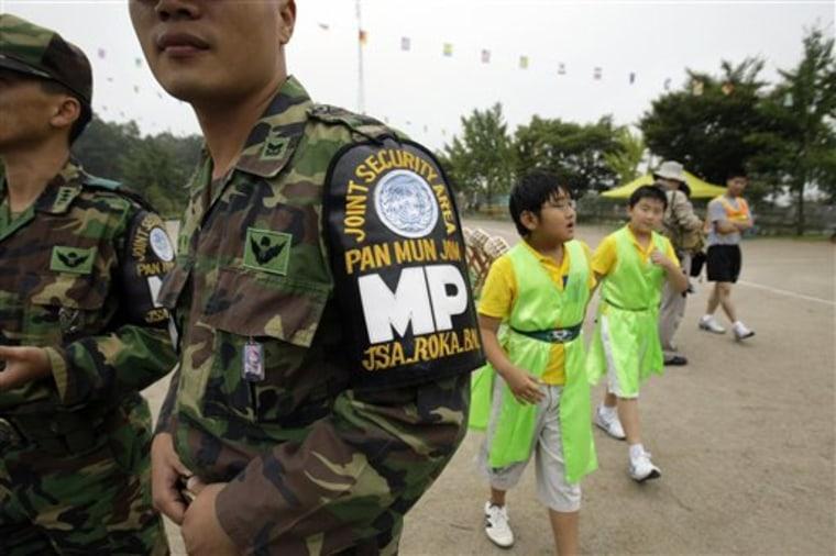 South Korea DMZ School