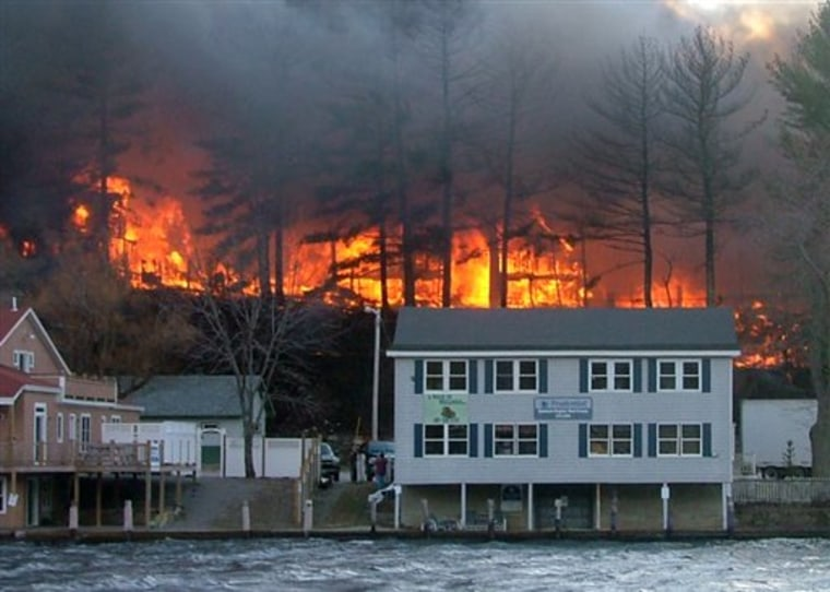 Christian Center Fire