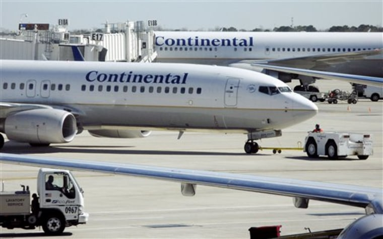 Continental Airlines Mexico
