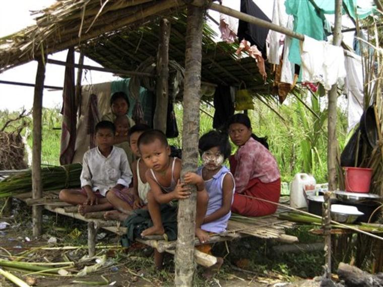 CORRECTION MYANMAR CYCLONE