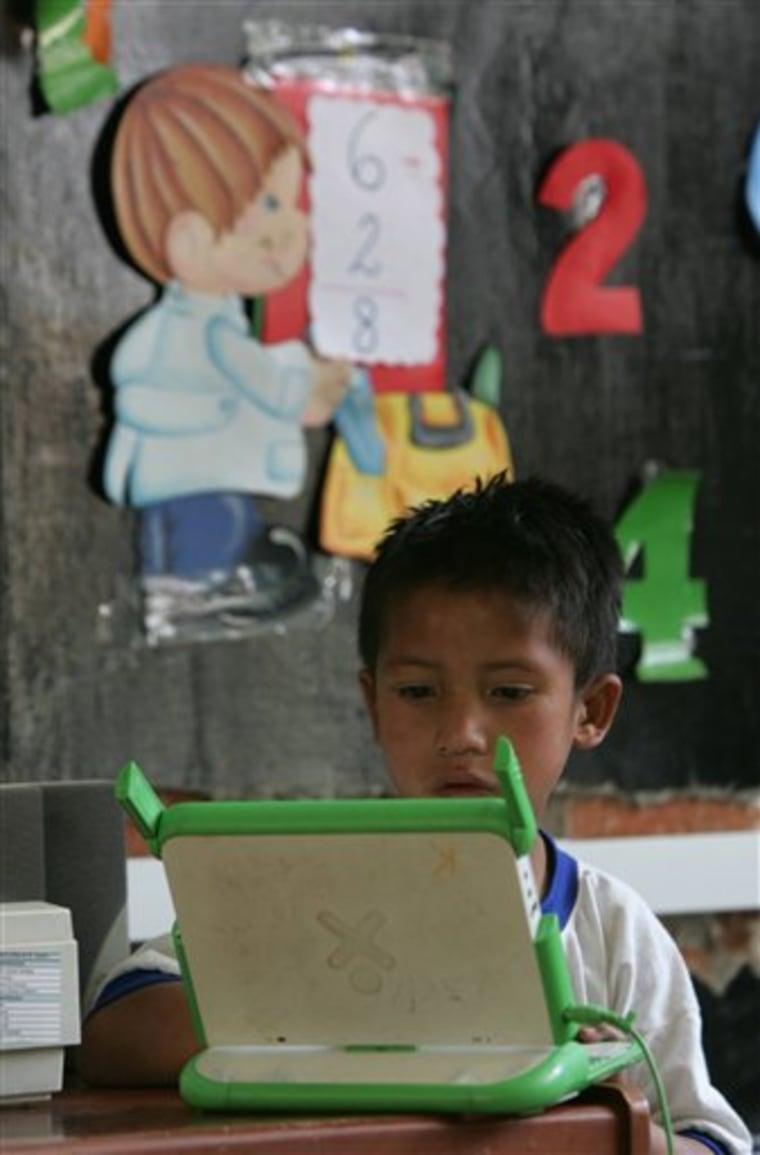 Peru One Laptop One Village
