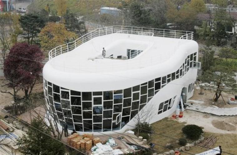 South Korea Toilet House