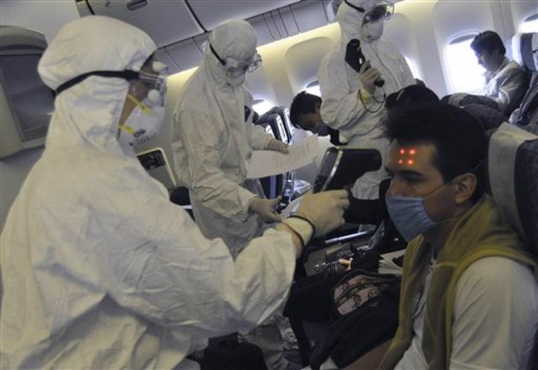 China Swine Flu Tough Measures