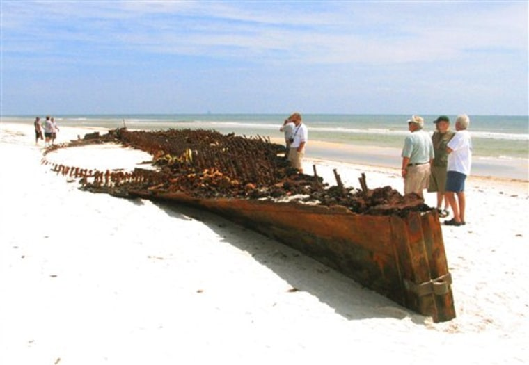 Ike Alabama Mystery Ship