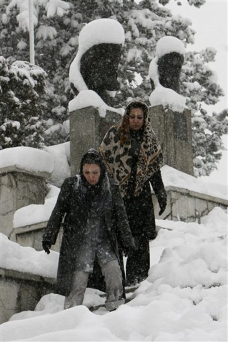 Iran Snow