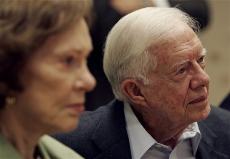 Former President Jimmy Carter's view of the forces at work in the Middle Eastis being called 'warped' by Rep. Howard Berman, D-Calif., the new chairman of the House Foreign Affairs Committee.