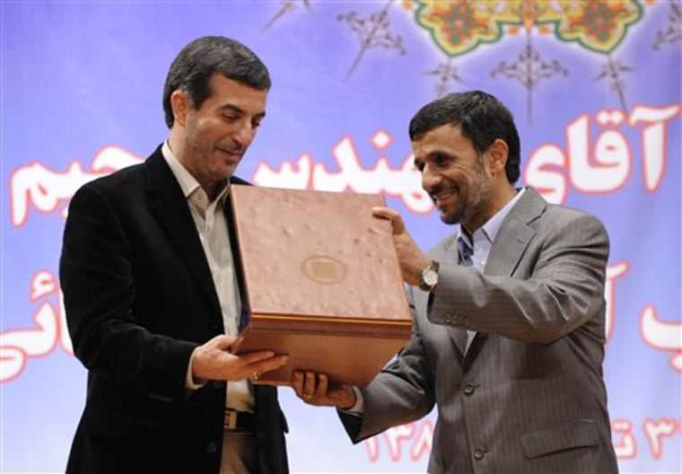 Mideast Iran Politics