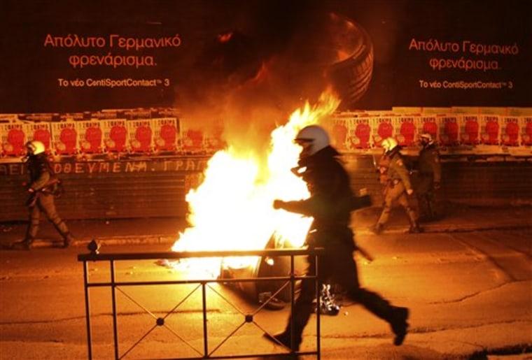 APTOPIX Greece Riots