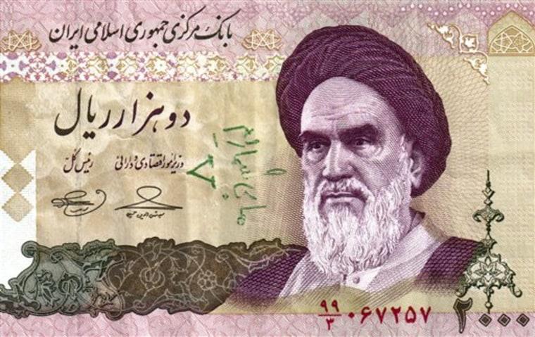 Mideast Iran Cash for Change