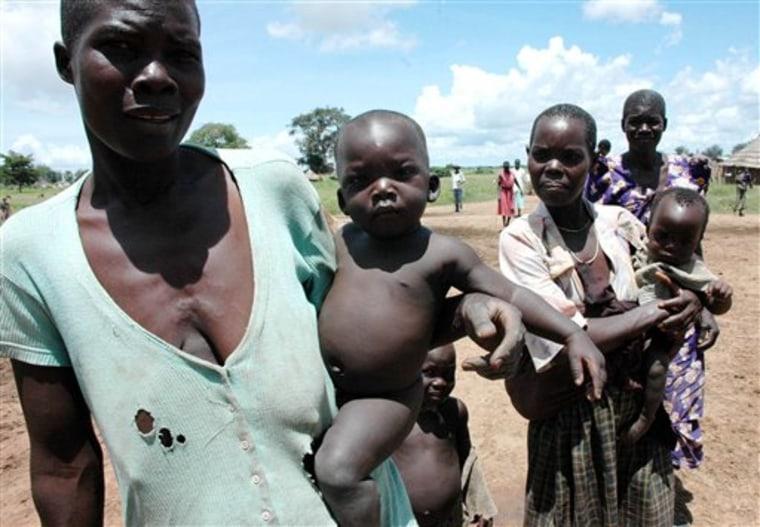 UGANDA AFRICA FLOODS