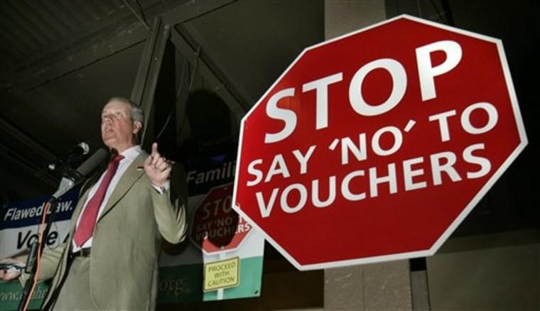 Ballot Measures School Vouchers