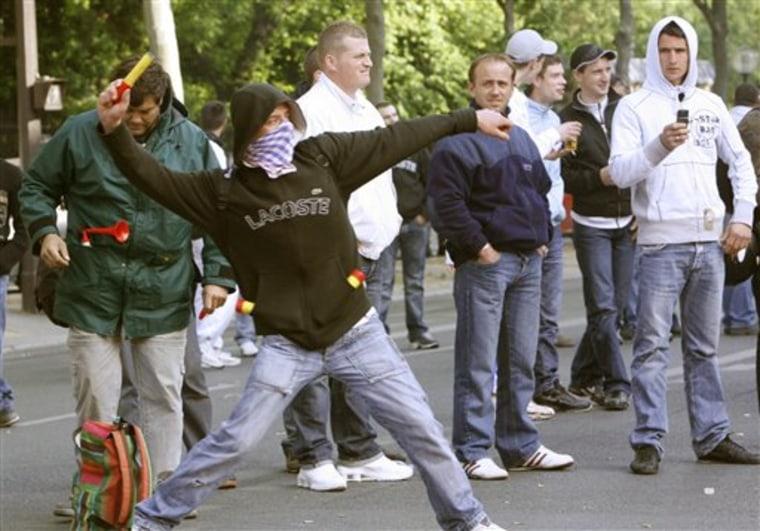 FRANCE FUEL PROTESTS