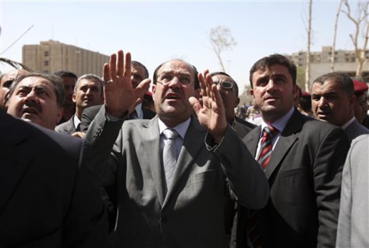 Iraq Malikis Dilemma