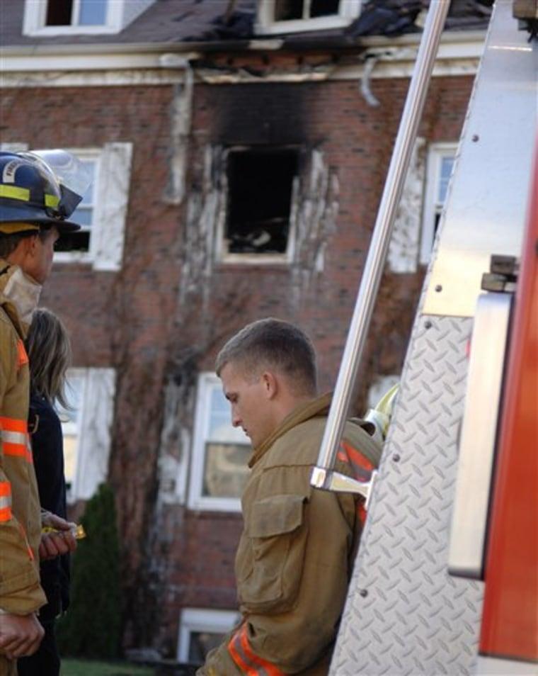 FRAT HOUSE FIRE