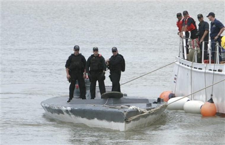 APTOPIX Costa Rica Drug Submarine