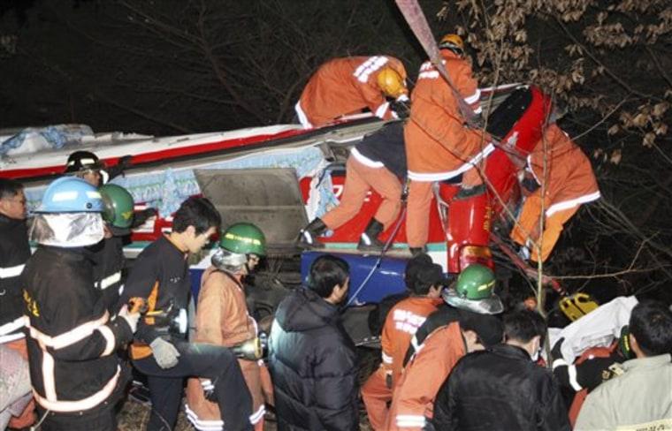 South Korea Bus Crash