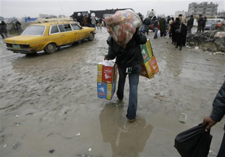 Egypt Palestinians