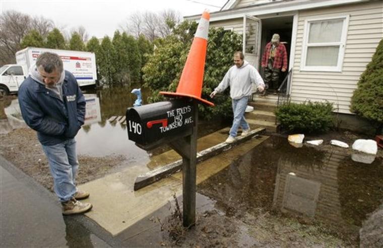 Spring Storm Flooding