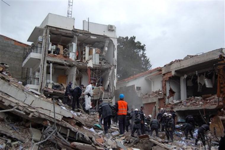 ALGERIA EXPLOSION