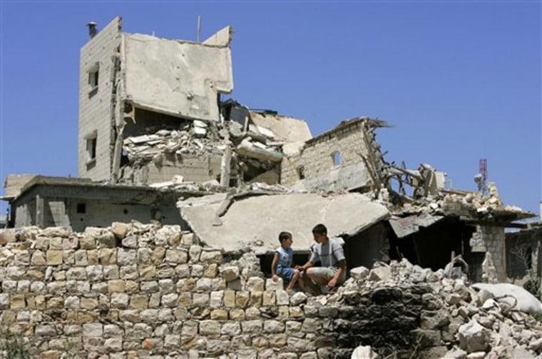 MIDEAST ISRAEL LEBANON