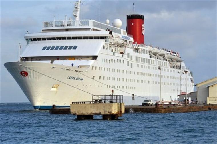 Aruba Swine Flu Cruise Ship