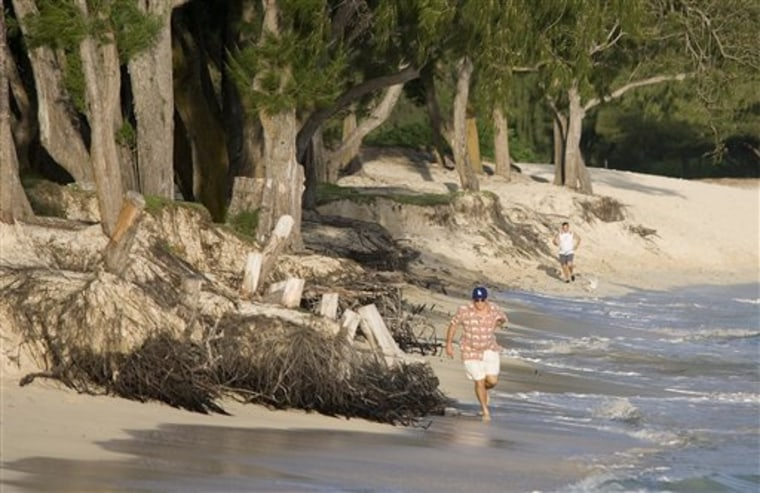Shrinking Beaches