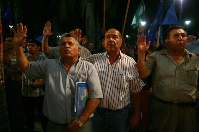 Bolivia Fearing Morales