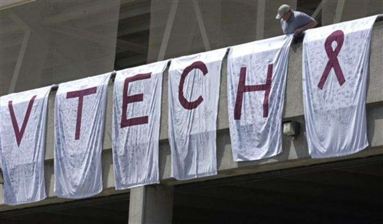 Virginia Tech Shooting Baseball