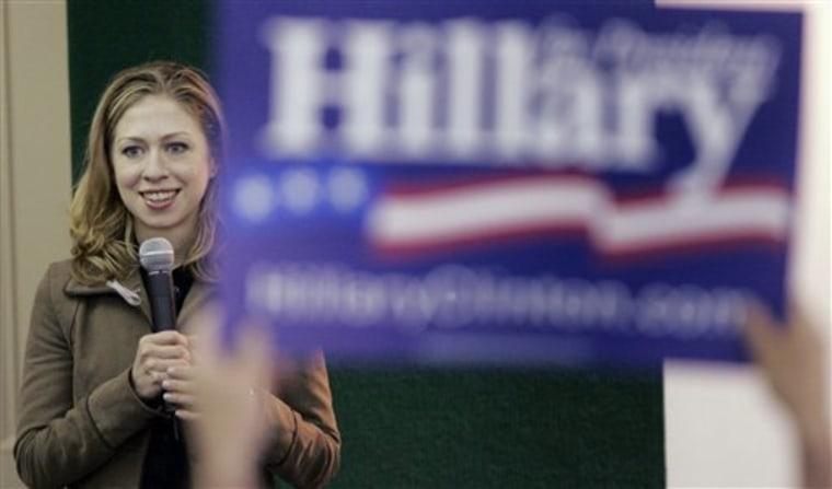 Campaign 2008 Chelsea Clinton