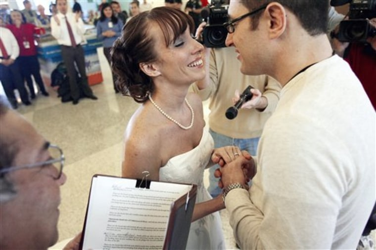 Airport Surprise Wedding