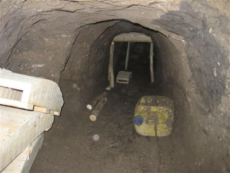 Iraq Terror Tunnel
