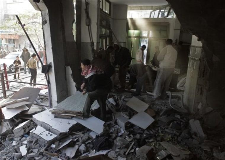 Mideast Israel Palestinians Rebuilding Gaza
