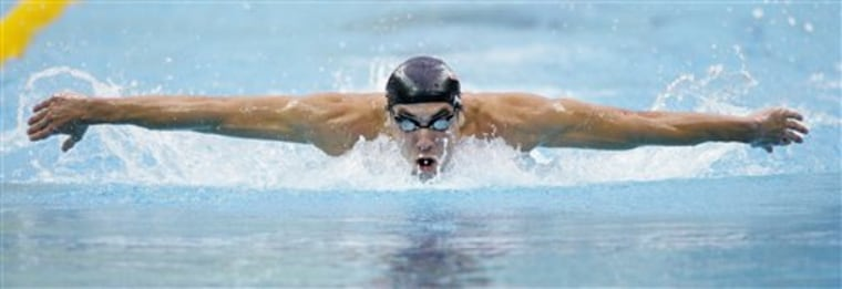 Beijing Olympics Swimming Mens 200M Butterfly
