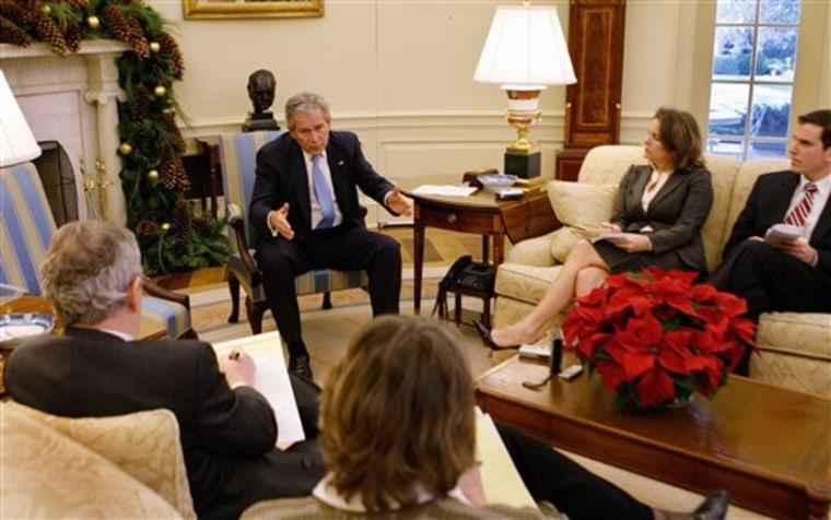 Bush Interview