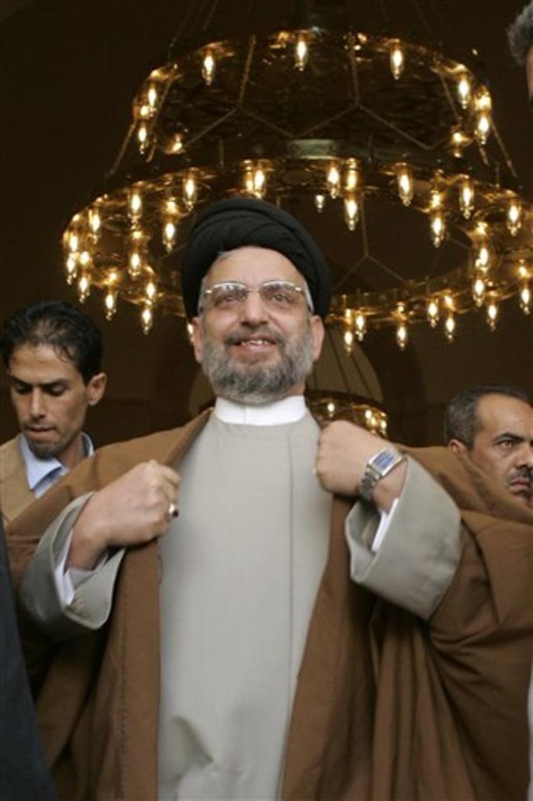 Iraq Obit Al Hakim