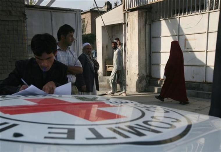 Afghanistan US Prison Visits