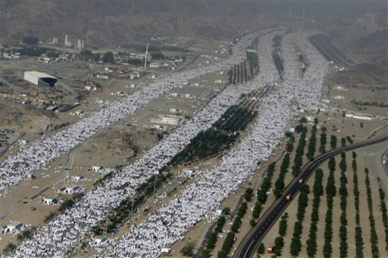 APTOPIX Saudi Arabia Hajj