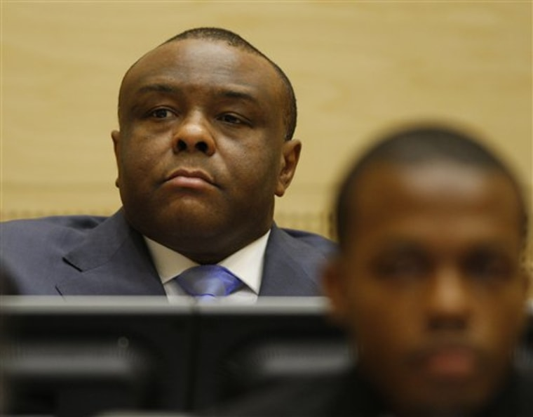 NETHERLANDS WAR CRIMES BEMBA